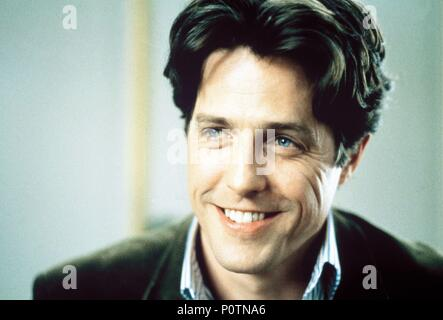 Original Film Title: NOTTING HILL.  English Title: NOTTING HILL.  Film Director: ROGER MICHELL.  Year: 1999.  Stars: HUGH GRANT. Credit: POLYGRAM / Album - Stock Photo