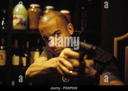 Original Film Title: A MAN APART.  English Title: A MAN APART.  Film Director: F. GARY GRAY.  Year: 2003.  Stars: VIN DIESEL. Credit: NEW LINE CINEMA / Album - Stock Photo