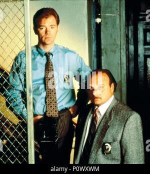 Original Film Title: NYPD BLUE-TV.  English Title: NYPD BLUE-TV.  Year: 1993.  Stars: DENNIS FRANZ; DAVID CARUSO. Credit: 20TH CENTURY FOX TV / Album - Stock Photo