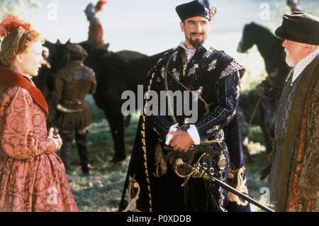 Original Film Title: ELIZABETH.  English Title: ELIZABETH.  Film Director: SHEKHAR KAPUR.  Year: 1998.  Stars: RICHARD ATTENBOROUGH; CATE BLANCHETT; ERIC CANTONA. Credit: GRAMERCY PICTURES / BAILEY, ALEX / Album - Stock Photo