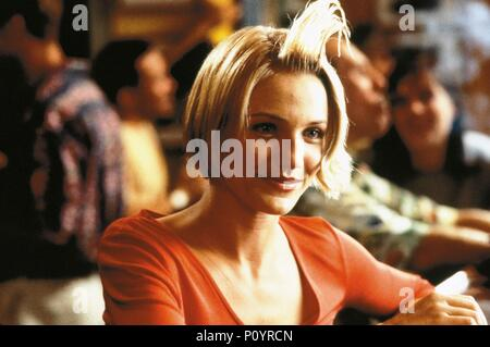 Original Film Title: THERE'S SOMETHING ABOUT MARY.  English Title: THERE'S SOMETHING ABOUT MARY.  Film Director: BOBBY & PETER FARRELLY; BOBBY FARRELLY; PETER FARRELLY.  Year: 1998.  Stars: CAMERON DIAZ. Credit: 20TH CENTURY FOX / Album - Stock Photo