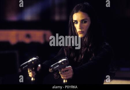 Original Film Title: CHARLIE'S ANGELS: FULL THROTTLE.  English Title: CHARLIE'S ANGELS: FULL THROTTLE.  Film Director: MCG.  Year: 2003.  Stars: DEMI MOORE. Credit: COLUMBIA PICTURES / MICHAELS, DARREN / Album - Stock Photo