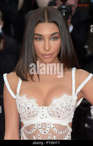 71st annual Cannes Film Festival - Yomeddine - Premiere  Featuring: Chantel Jeffries Where: Cannes, France When: 09 May 2018 Credit: IPA/WENN.com  **Only available for publication in UK, USA, Germany, Austria, Switzerland** - Stock Photo
