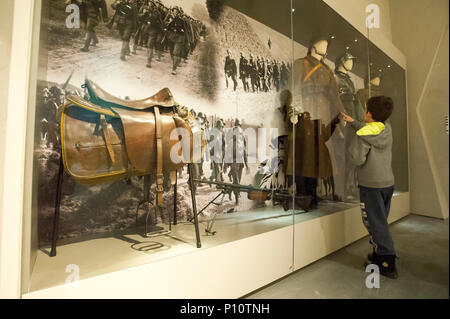 Nazi German Invasion of Poland in September 1939 as a part of exhibion in Museum of the Second World War in Gdansk, Poland. January 28th 2017 © Wojcie - Stock Photo