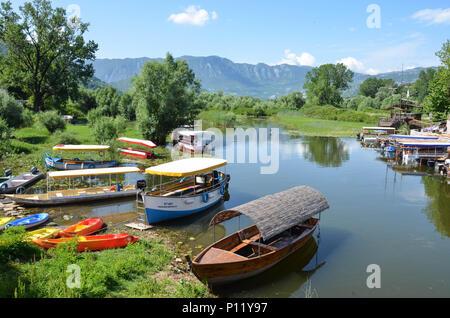 Virpazar, Lake Skadar, Montenegro, June 2018 - Stock Photo