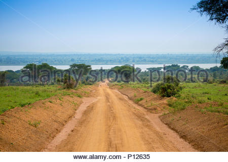 Murchison Falls National Park, Safari landscapes, Uganda, Africa - Stock Photo