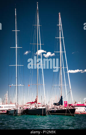 Sailing ships, Palma de Mallorca - Stock Photo