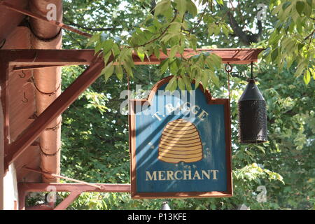 Store In Old Salem - Stock Photo