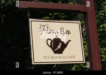 Signs At Old Salem - Stock Photo