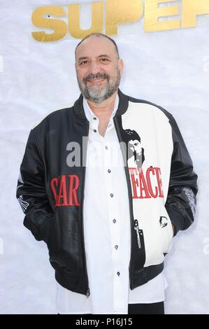 Culver City, USA. 10th June, 2018. Joel Silver at arrivals for SUPERFLY Premiere, Sony Pictures Entertainment, Culver City, USA June 10, 2018. Credit: Elizabeth Goodenough/Everett Collection/Alamy Live News - Stock Photo