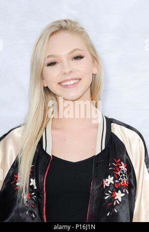 Culver City, USA. 10th June, 2018. Jordyn Jones at arrivals for SUPERFLY Premiere, Sony Pictures Entertainment, Culver City, USA June 10, 2018. Credit: Elizabeth Goodenough/Everett Collection/Alamy Live News - Stock Photo
