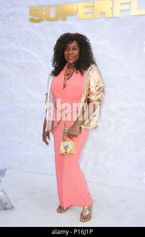 Culver City, USA. 10th June, 2018. Loretta Devine at arrivals for SUPERFLY Premiere, Sony Pictures Entertainment, Culver City, USA June 10, 2018. Credit: Elizabeth Goodenough/Everett Collection/Alamy Live News - Stock Photo