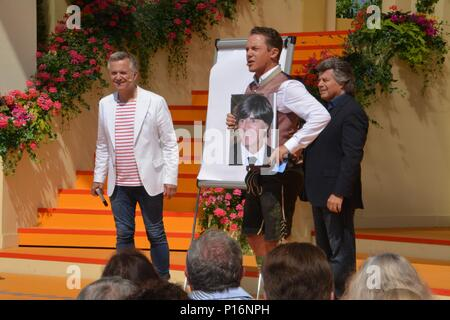 Rust, Germany, 10th June, 2018, ARD TV-Show 'Immer wieder Sonntags' mit Stefan Mross, Credit: mediensegel/Alamy Live News - Stock Photo