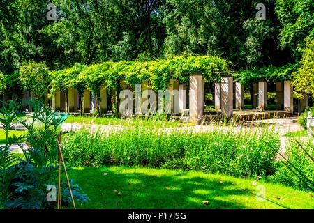 Parc de Bercy in Paris, France - Stock Photo