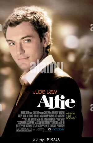 Original Film Title: ALFIE.  English Title: ALFIE.  Film Director: CHARLES SHYER.  Year: 2004. Credit: PARAMOUNT PICTURES / Album - Stock Photo