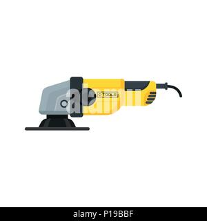 power tools angle grinder icon - Stock Photo