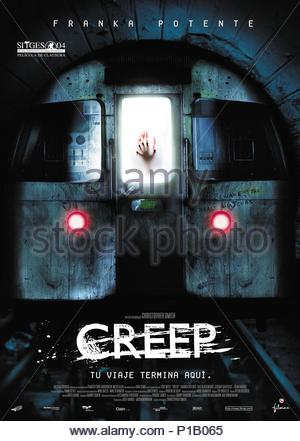 Original Film Title: CREEP.  English Title: CREEP.  Film Director: CHRISTOPHER SMITH.  Year: 2004. Copyright: Editorial inside use only. This is a publicly distributed handout. Access rights only, no license of copyright provided. Mandatory authorization to Visual Icon (www.visual-icon.com) is required for the reproduction of this image. Credit: DAN FILMS/ZARO FILMS GMBH / Album - Stock Photo