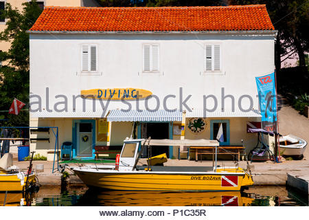 bozava, dugi otok island, croatia - Stock Photo