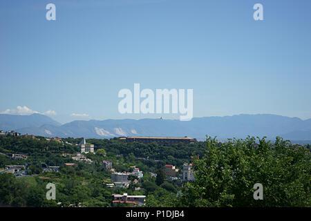 Landscape of Capodimonte an camaldoli City of Naples, Italy - Stock Photo