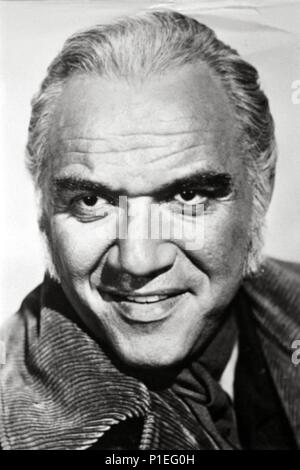 Original Film Title: BONANZA-TV.  English Title: BONANZA.  Film Director: ROBERT ALTMAN; LEWIS ALLEN.  Year: 1959.  Stars: LORNE GREENE. Credit: NATIONAL BROADCASTING CO. / Album - Stock Photo