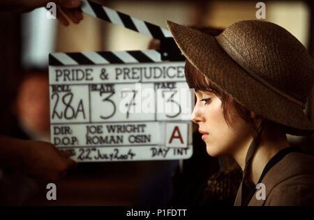 Original Film Title: PRIDE & PREJUDICE.  English Title: PRIDE & PREJUDICE.  Film Director: JOE WRIGHT.  Year: 2005.  Stars: KEIRA KNIGHTLEY. Credit: UNIVERSAL PICTURES / BAILEY, ALEX / Album - Stock Photo