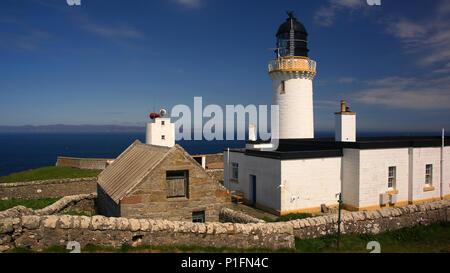 Europe, Scotland, United Kingdom, England, landscape, Dunnet Head Lighthouse, lighthouse,, Europa, Schottland, Grossbritannien, Landschaft, Leuchtturm - Stock Photo
