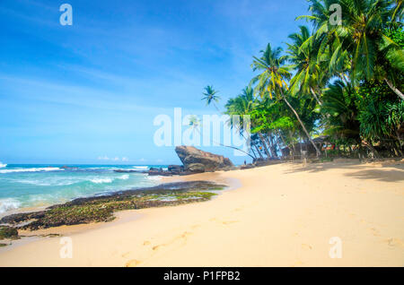 Dalawela beach, Sri Lanka - Stock Photo