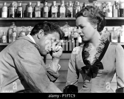 Original Film Title: EDISON, THE MAN.  English Title: EDISON, THE MAN.  Film Director: CLARENCE BROWN.  Year: 1940.  Stars: SPENCER TRACY; RITA JOHNSON. Credit: M.G.M / Album - Stock Photo