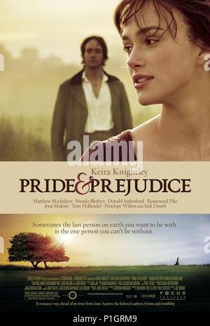 Original Film Title: PRIDE & PREJUDICE.  English Title: PRIDE & PREJUDICE.  Film Director: JOE WRIGHT.  Year: 2005. Credit: UNIVERSAL PICTURES / Album - Stock Photo