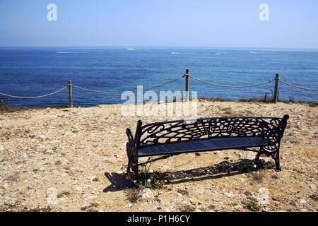 SPAIN - Valencia autonomous region - Marina Alta (district) - Alicante. Denia; cerca de Playa de Arenetas (53). - Stock Photo