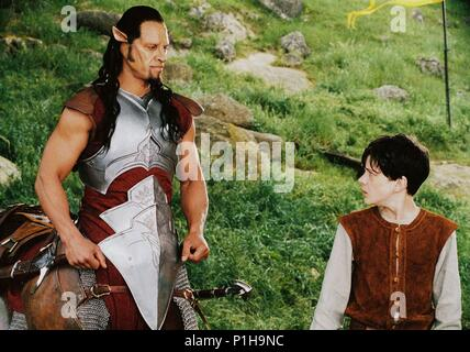 Original Film Title: CHRONICLES OF NARNIA: THE LION, THE WITCH AND THE WARDROBE, THE.  English Title: CHRONICLES OF NARNIA: THE LION, THE WITCH AND THE WARDROBE, THE.  Film Director: ANDREW ADAMSON.  Year: 2005.  Stars: SKANDAR KEYNES; PATRICK KAKE. Credit: WALT DISNEY PICTURES / BRAY, PHIL / Album - Stock Photo