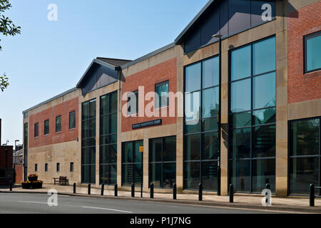 Magistrates Court Beverley East Yorkshire England UK United Kingdom GB Great Britain - Stock Photo