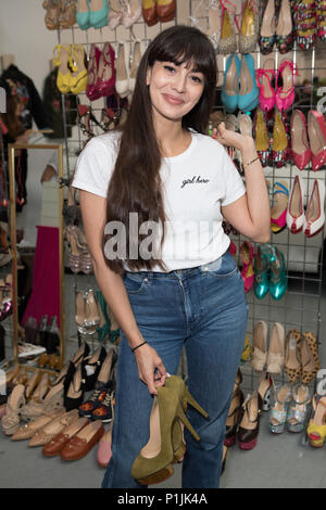 Celebs attend Women for Women International #SheInspiresMe Car Boot Sale - press preview & photocall  Featuring: Zara Martin Where: London, United Kingdom When: 12 May 2018 Credit: Phil Lewis/WENN.com - Stock Photo