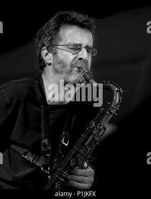 John Turville Trio, London Jazz festival November, 2008. - Stock Photo
