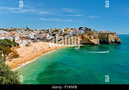 Praia do Carvoeiro in Spring - Stock Photo