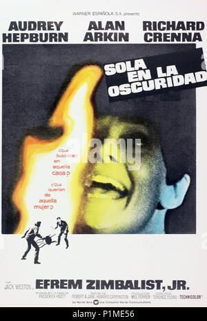 Original Film Title: WAIT UNTIL DARK.  English Title: WAIT UNTIL DARK.  Film Director: TERENCE YOUNG.  Year: 1967. Credit: WARNER BROTHERS / Album - Stock Photo