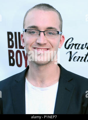 Beverly Hills, California, USA. 12th June, 2018. Lucas Taggart attends the Los Angeles Premiere of 'Billy Boy' on June 12, 2018 at Laemmle Music Hall in Beverly Hills, California. Photo by Barry King/Alamy Live News - Stock Photo
