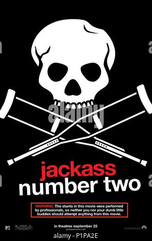 Original Film Title: JACKASS: NUMBER TWO.  English Title: JACKASS: NUMBER TWO.  Film Director: JEFF TREMAINE.  Year: 2006. Credit: PARAMOUNT PICTURES/MTV FILMS/DICKHOUSE PRODUCT./LYNCH SIDERO / Album - Stock Photo