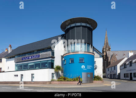 An Lanntair Theatre & event venue, South Beach, Stornoway, Isle of Lewis, Outer Hebrides, Scotland, United Kingdom - Stock Photo