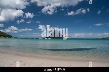 Porto Taverna beach, Sardinia - Stock Photo
