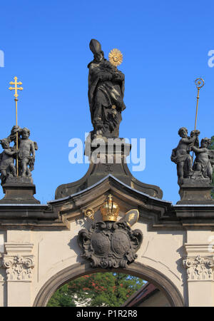 Czech Republic, Prague, Castle district, Strahov Monastery, - Stock Photo
