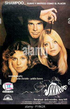 Original Film Title: SHAMPOO.  English Title: SHAMPOO.  Film Director: HAL ASHBY.  Year: 1975. Credit: COLUMBIA PICTURES / Album - Stock Photo