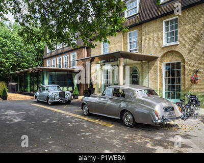 The Gonville Hotel Cambridge - a luxury boutique hotel in central Cambridge UK - Stock Photo