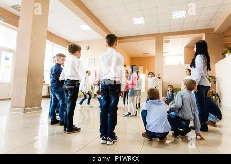 Children during break - Stock Photo