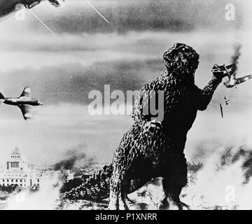 godzilla king of the monsters, 1956 - Stock Photo