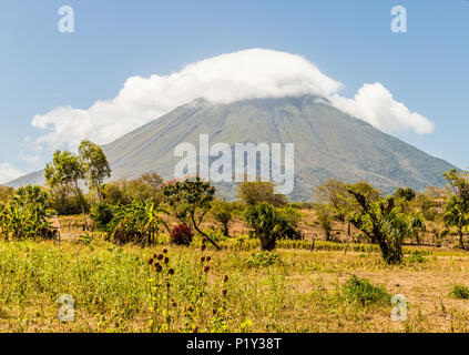 Ometepe Volcanic island - Stock Photo