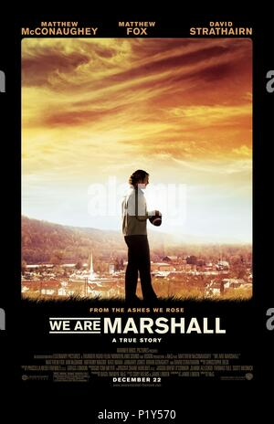 Original Film Title: WE ARE MARSHALL.  English Title: WE ARE MARSHALL.  Film Director: MCG.  Year: 2006. Credit: WARNER BROS. PICTURES / Album - Stock Photo