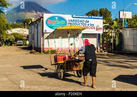 Ometepe Volcanic island - Stock Photo