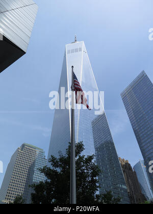One World Trade Center / Freedom Tower - Stock Photo