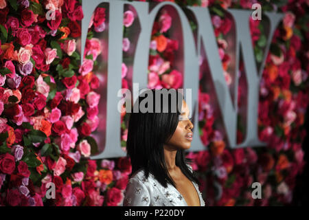 Kerry Washington attending the 72nd Annual Tony Awards 2018 at the Radio City Music Hall on June 10, 2018 in New York City. - Stock Photo